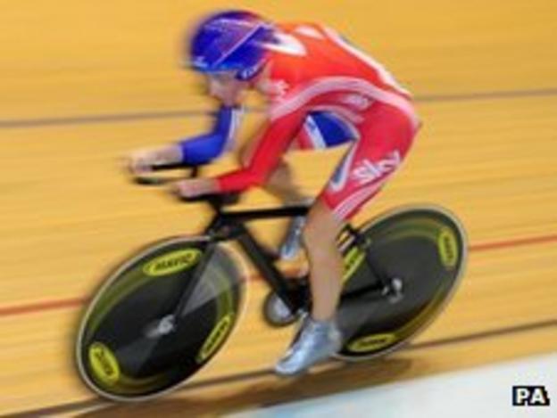 Paralympic champion Sarah Storey