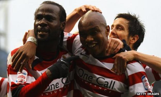 Pascal Chimbonda and El-Hadji Diouf