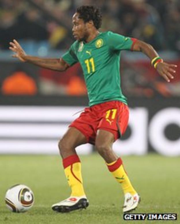 Jean Makoun of Cameroon