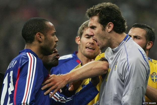 Thierry Henry, Andreas Isaksson