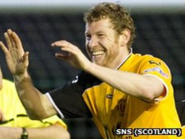 Annan Athletic striker Sean O'Connor