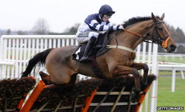 Brendan Powell saddled three horses to victory at Plumpton in December
