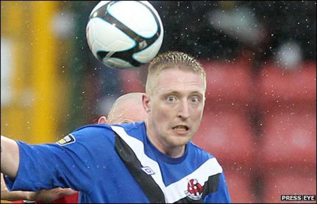 Crusaders midfielder Chris Morrow