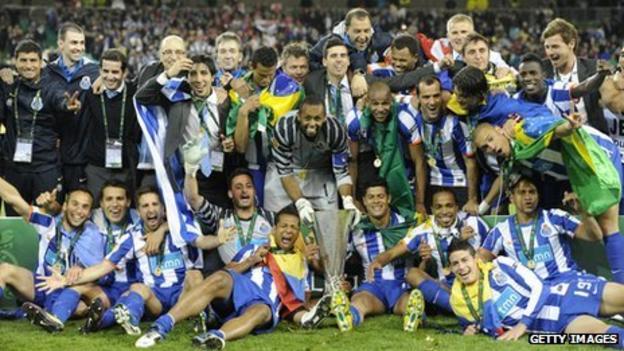 Porto win Europa League