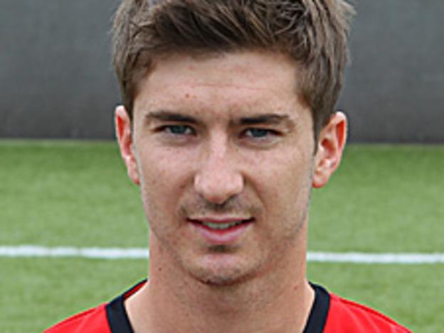 Crewe Alexandra midfielder Luke Murphy