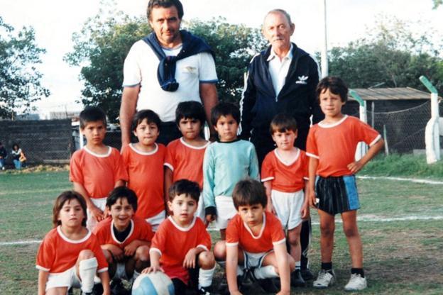 Messi in Argentina in 1994
