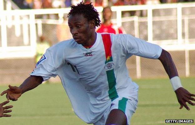 Jonathan Pitroipa of Burkina Faso