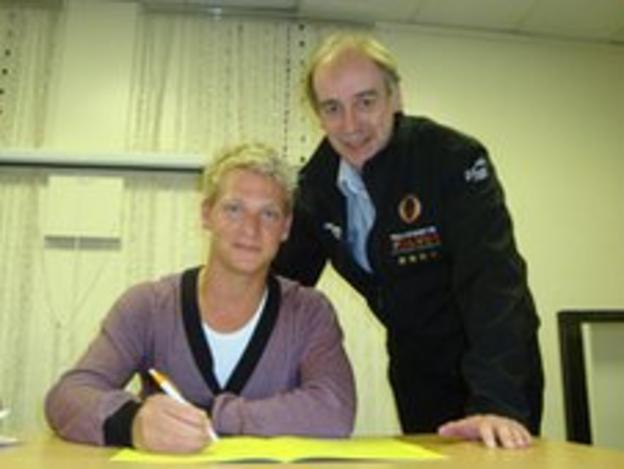 Freddie Lindgren and Chris van Straaten