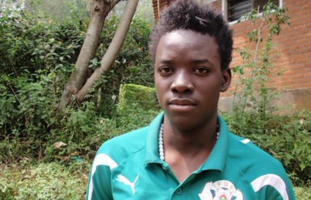 Burkina Faso's Bertrand Traore