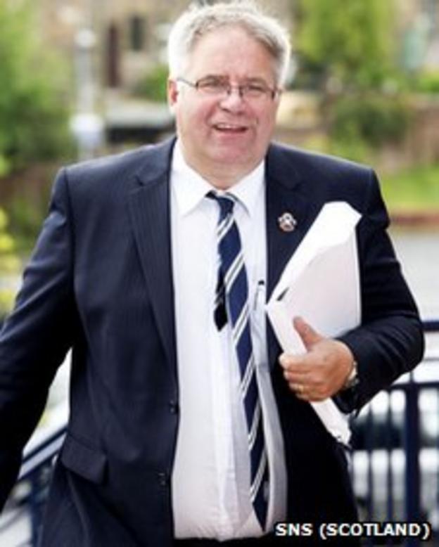 Highland League president Eddie Innes