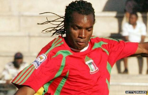 Beira-Mar and Equatorial Guinea's Javier Balboa