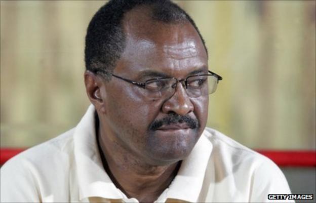 Sudan coach Mohamed Abdallah