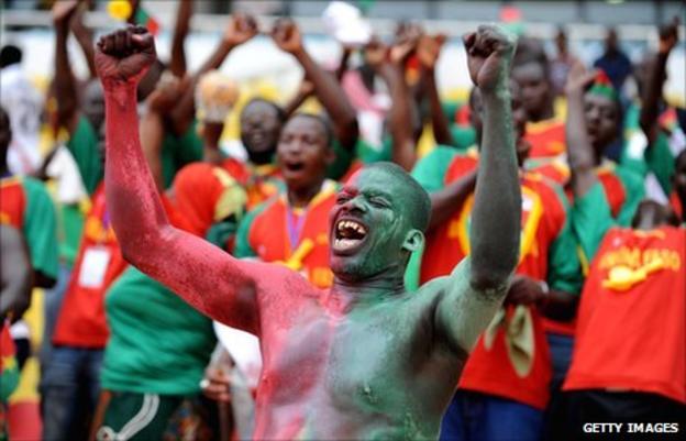 Fans of Burkina Faso's Stallions