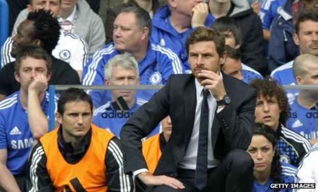 Frank Lampard and Andre Villas-Boas