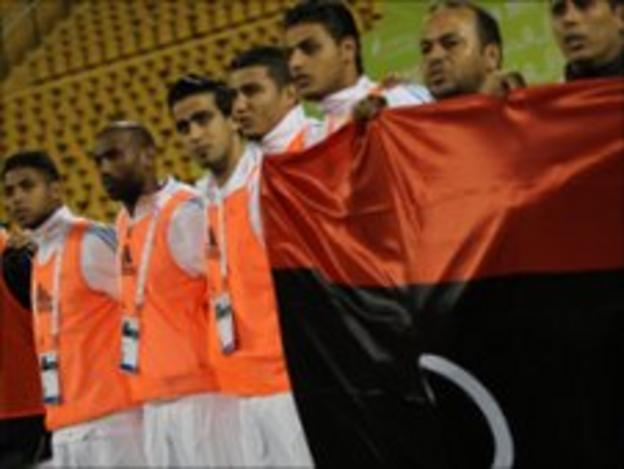 Libyan footballers