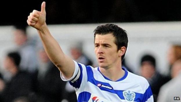 QPR captain Joey Barton