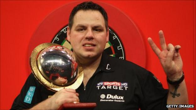 PDC world champion Adrian Lewis