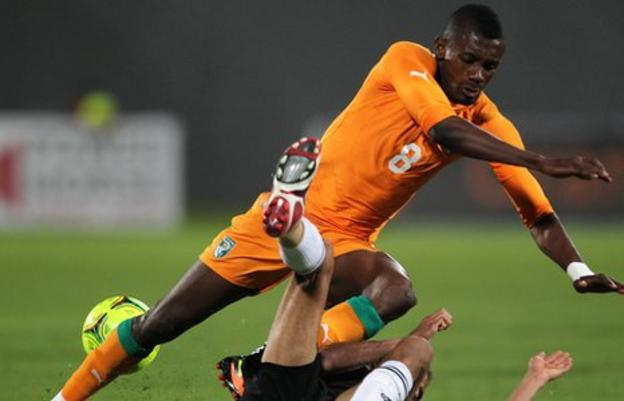 Chelsea and Ivory Coast's Salomon Kalou