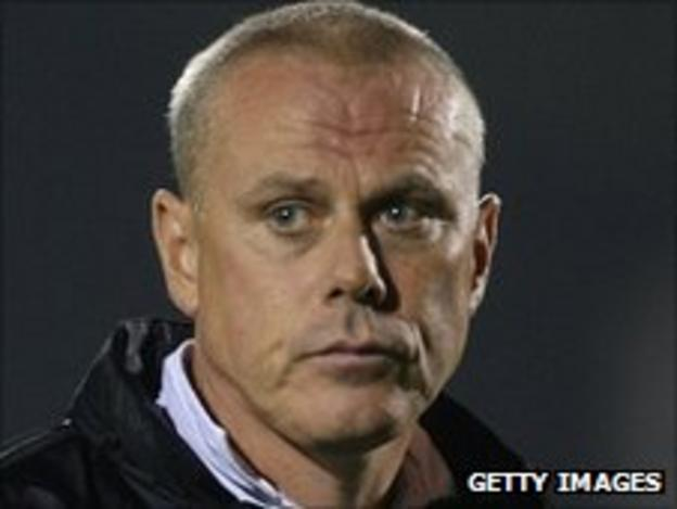 Chesterfield assistant manager Tommy Wright