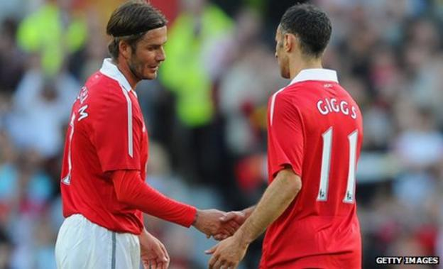 David Beckham and Ryan Giggs