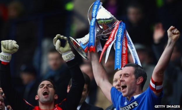 Rangers and Scotland defender David Weir