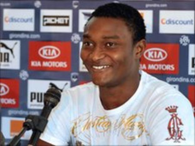 Niger forward Moussa Maazou