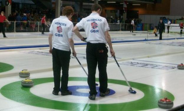 Great Britain's curling team