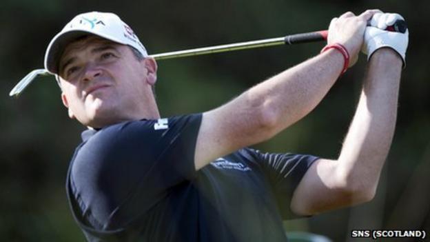Golfer Paul Lawrie