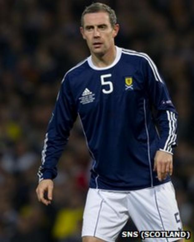David Weir played 69 times for Scotland