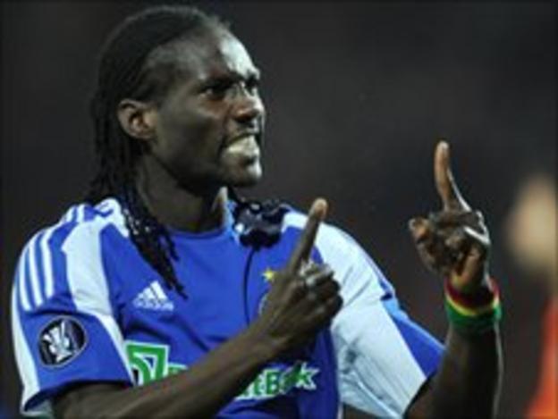 Guinea striker Ismael Bangoura