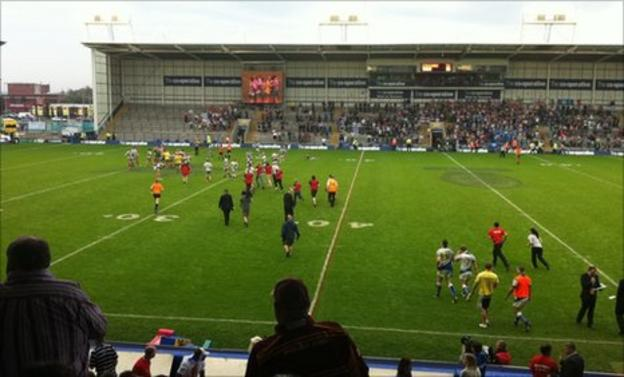 Workington Town lose to Keighley at Championship One