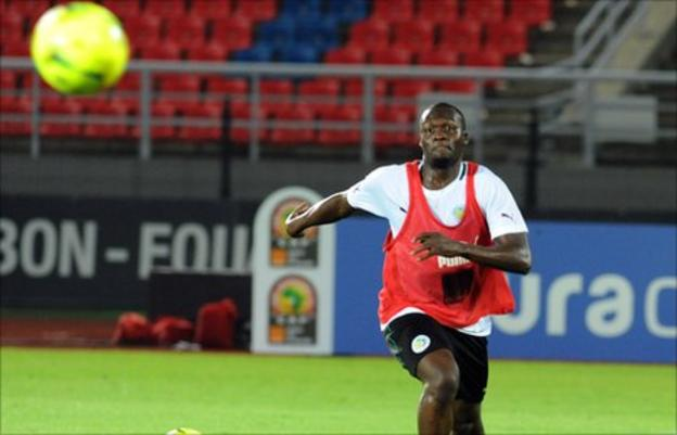 Senegal's Moussa Sow