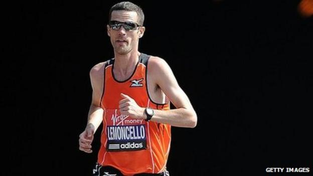 Marathon runner Andrew Lemoncello