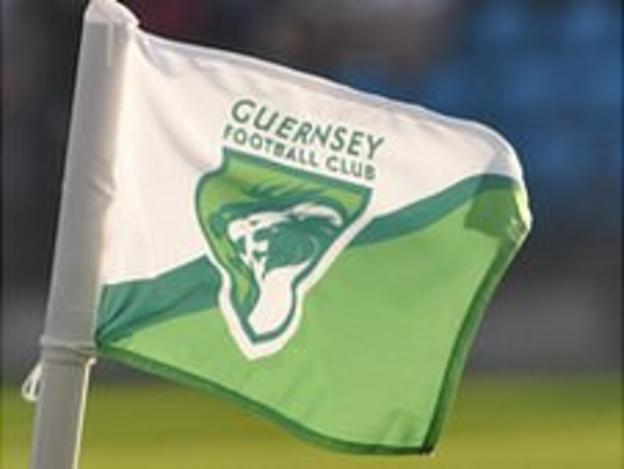 Guernsey Football Club corner flag