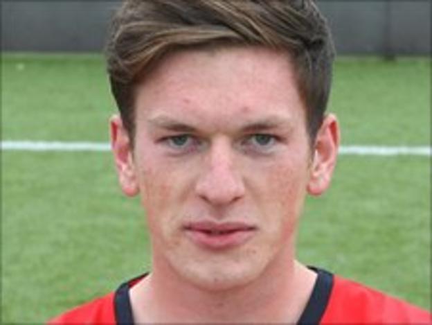 Crewe Alexandra full-back Matt Tootle