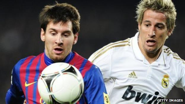 Lionel Messi & Fabio Alexandre Silva Coentrao