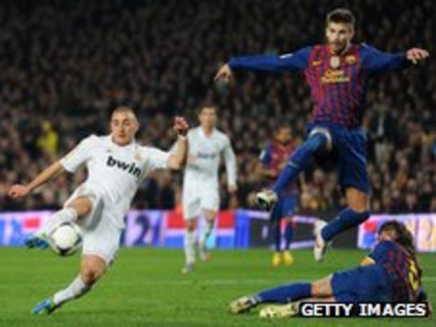 Karim Benzema scores for Real