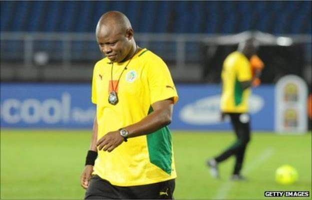 The Senegalese federation will discuss the future of coach Amara Traore after the Teranga Lions' final group game at the Cup of Nations against Libya.