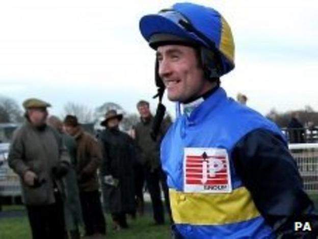 Jockey Dougie Costello