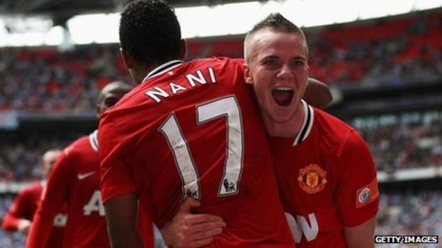 Manchester United's Tom Cleverley