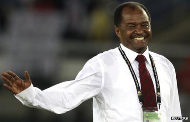 Sudan coach Mohamed 'Mazda' Abdallah
