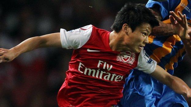 Ryo Miyaichi has joined Bolton on loan from Arsenal