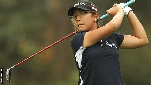 Lydia Ko at the 2011 Women's Australian Open