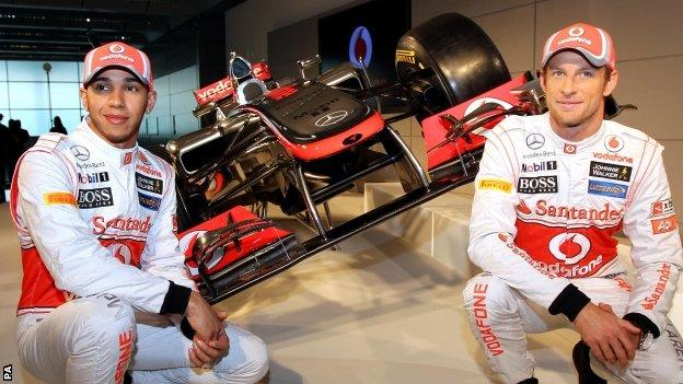 Jenson Button and Lewis Hamilton are hoping for a second drivers' title with the MP4-27