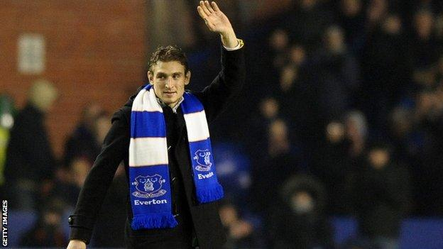 Jelavic has said hello to Everton's fans and goodbye to Rangers