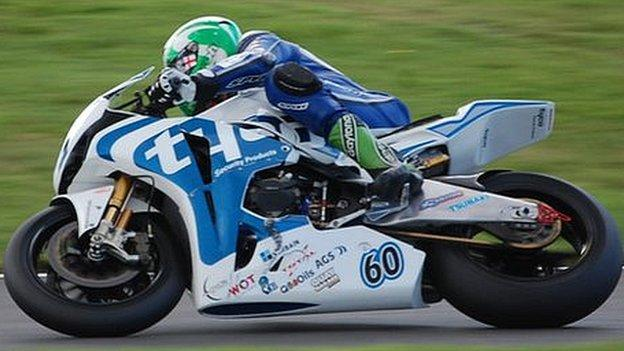 Louth racer Peter Hickman joins the MSS Kawasaki team for the 2012 British Superbike Championships.