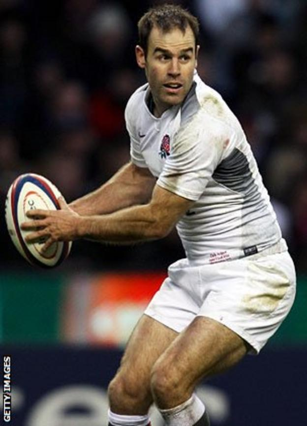 Recalled England fly-half Charlie Hodgson
