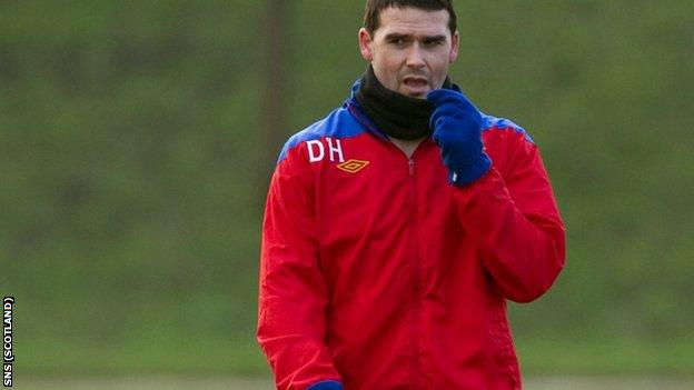 Healy is the only fit senior striker in Rangers squad