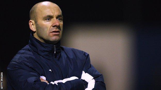 Barrow joint manager Darren Sheridan