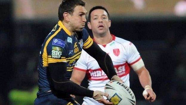 Kevin Sinfield's 400th appearance